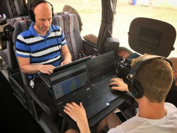 denmark tieline henrik poulsen top left broadcasting live from the nordjyske bus 353x265